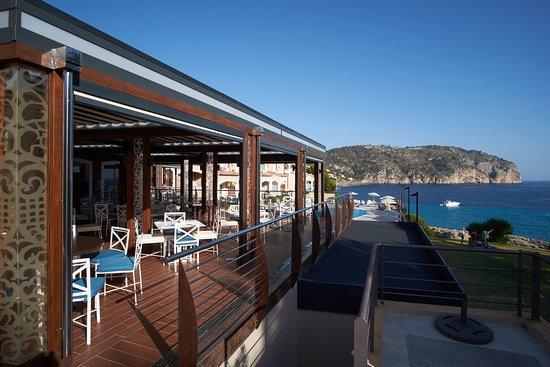 Camp De Mar, España: Vistas desde el restaurante