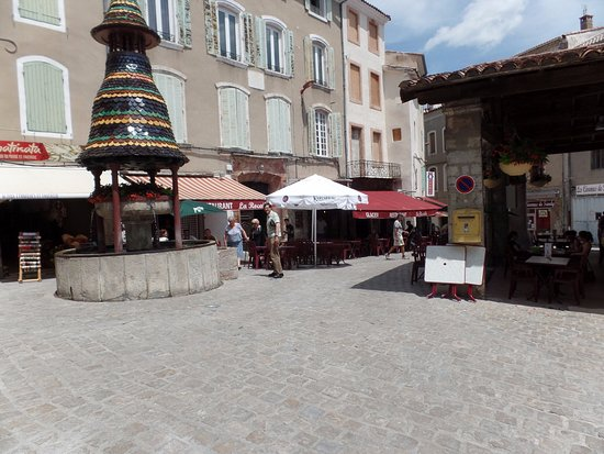 Anduze, France: la terrasse