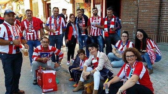 Comunidad de Madrid, España: Peña Atlética el Doblete !!