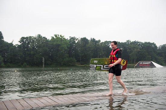 Waterskibaan De IJzeren Man Foto