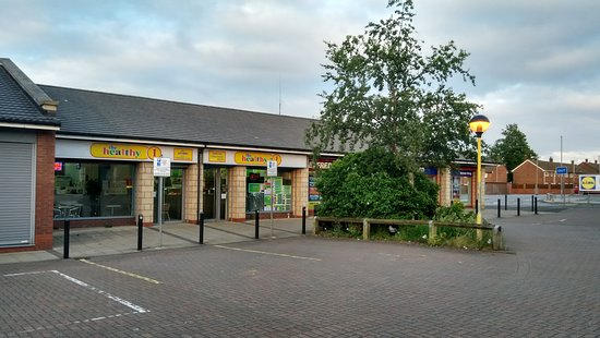 Wirral, UK: Modern, secure area with lots of free parking too!