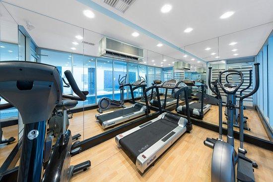 Glenelg, Australia: Oaks Liberty Towers Gym