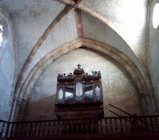 Saint-Lizier, Frankrijk: organo