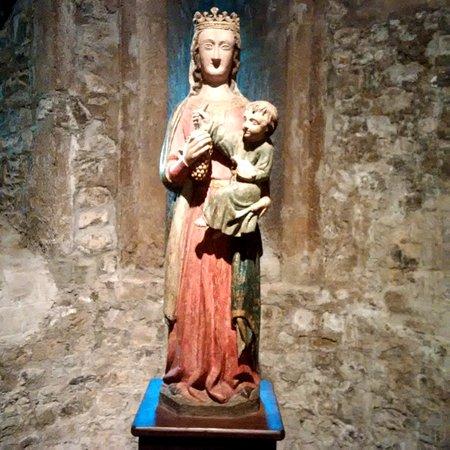 Saint-Lizier, Frankrijk: statua
