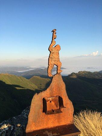 San Roque de Riomiera, Spain: 's Ochtends om 7:20 gestart en om 8:00 de zon vanaf de Pico la Miel zien opkomen. Pittige maar f