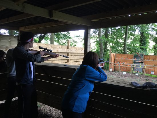Kendal, UK: Great Archery and rifle shooting ranges
