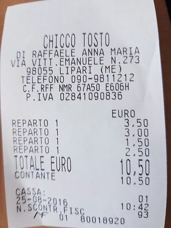 Chicco tosto torrefazione bar: 20160825_112111_large.jpg