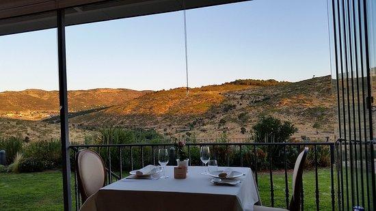 Robledo de Chavela, España: terraza del restaurante lavanda