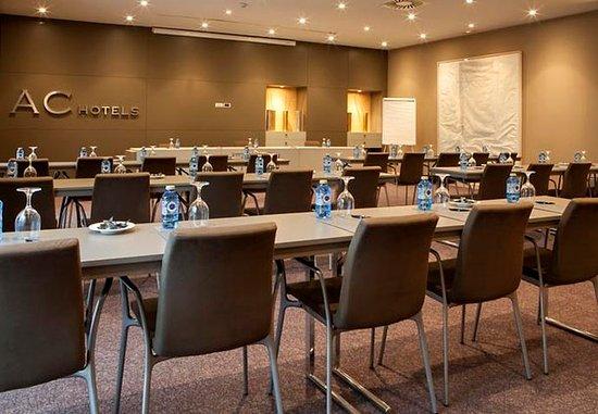 Сан-Себастьян-де-лос-Рейес, Испания: Gran Forum Meeting Room – Classroom Setup