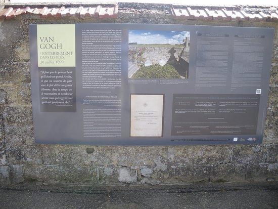 Auvers-sur-Oise, Francia: Entrada con historia