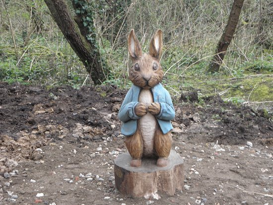 Basildon, UK: Peter Rabbit Woodland Trail