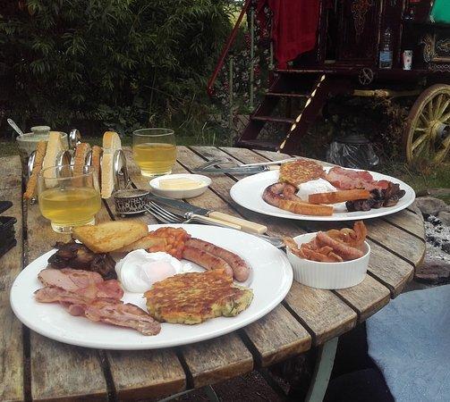 Hoarwithy, UK: Breakfast