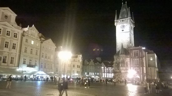 Hotel U Prince: The main square