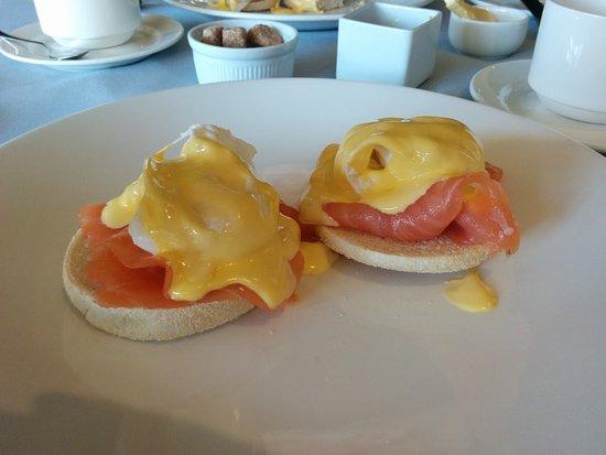 Bay Tree Hotel: Eggs Royale at Brekfast