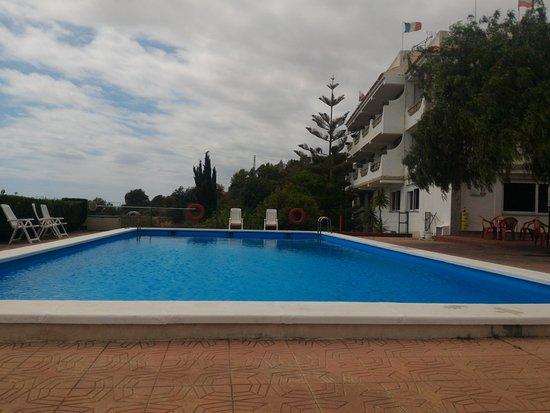 Alcala de Xivert, İspanya: Vista desde la piscina