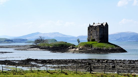 Appin, UK: View from the road