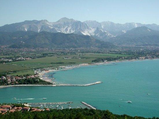 Province of La Spezia, Italia: Foce del fiume Magra