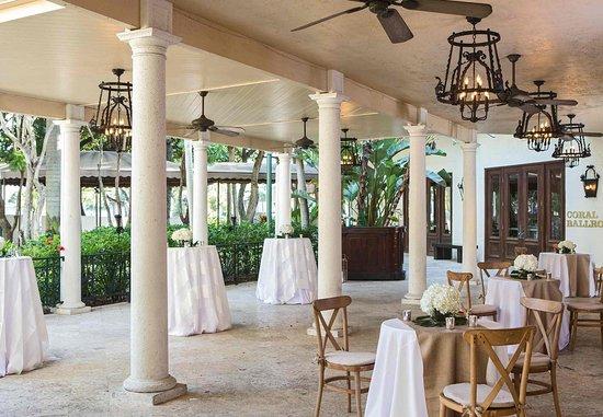 Renaissance Boca Raton Hotel: Veranda - Cocktail Reception