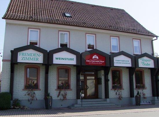 Bad Mergentheim, Almanya: Deutscher Hof