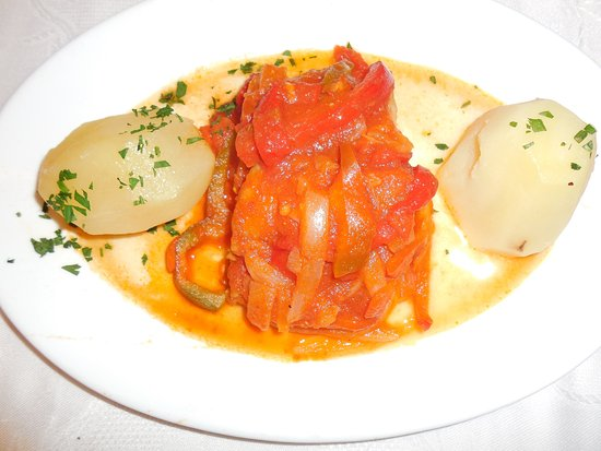 Restaurante Chinasol Playa: BACALAO AL AJOARRIERO
