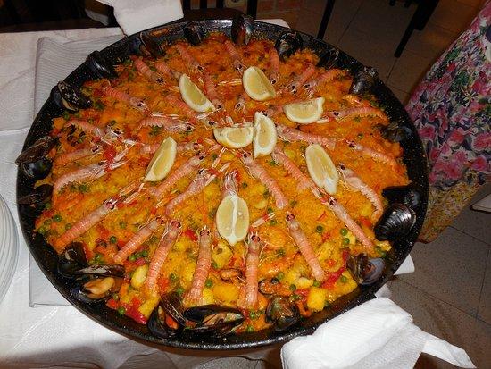 Restaurante Chinasol Playa: PAELLA DE MARISCO