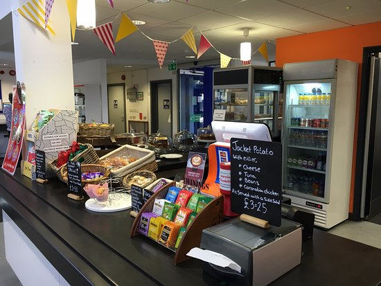 Really lovely staff, fab food. All within Farnborough library great setting for cuppa and treats