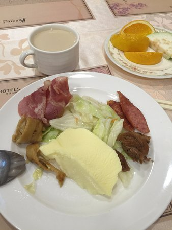 K Hotel (Keelung): 早餐種類較少