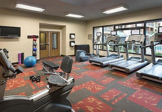 Cupertino, Californië: Fitness Center