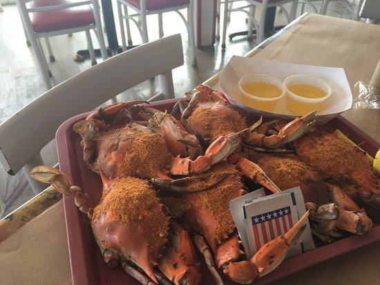 Dumfries, Wirginia: Blue Crabs - Nuff Said!