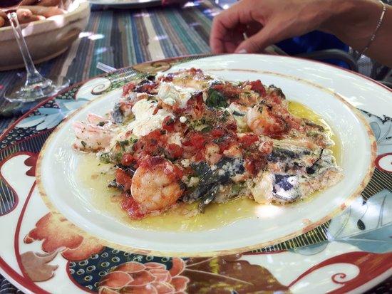 Province of Sondrio, Italy: lasagne al pesce