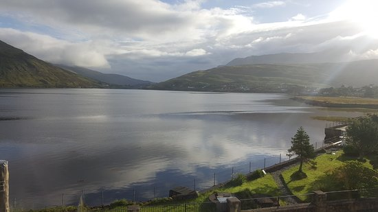 Leenane, Irlanda: View from my room