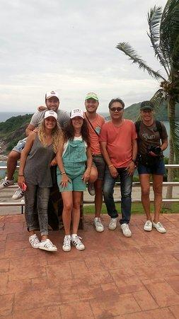 Wichit, Tailandia: Whit Frencs family at Promthap cape phuket Thailand.