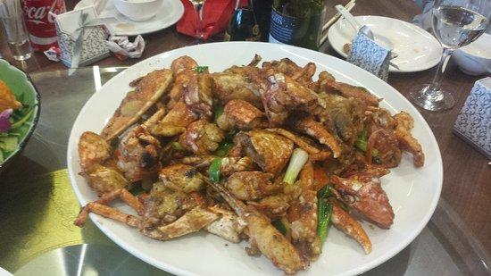 Yeadon, UK: Yin and yang at sweet Basil Valley  always brilliant food