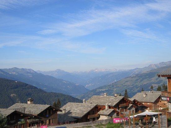La Rosiere, Frankreich: Vue du balcon de la chambre