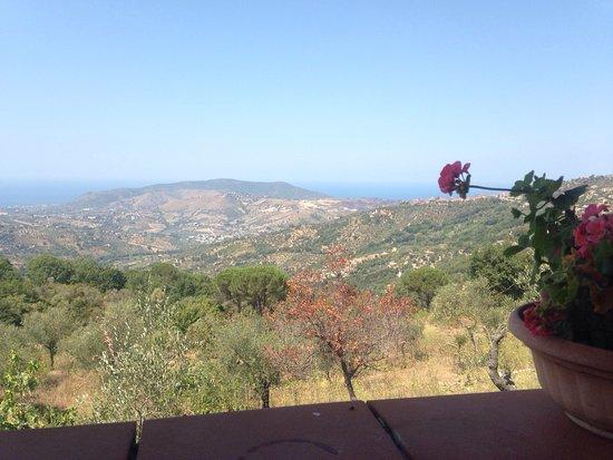 Perdifumo, Italia: terrazza panoramica