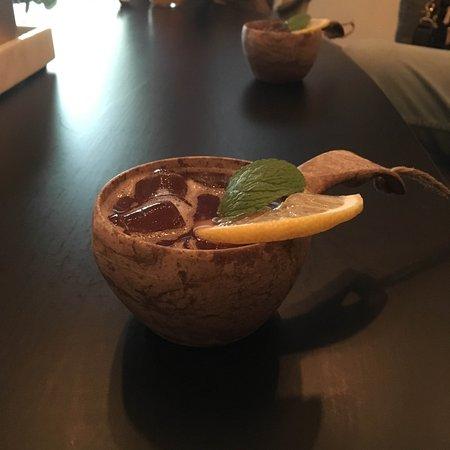 TC (Teatercafeet): Drink serverad i kåsa