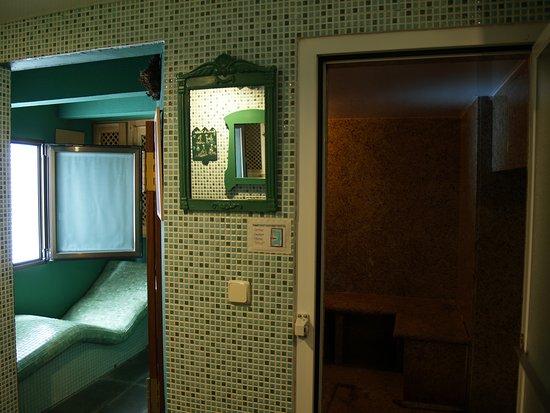 Hotel Aran La Abuela: BAÑO TURCO Y SAUNAS BITÉRMICAS