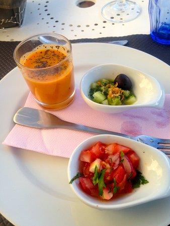 Saint-Romain, ฝรั่งเศส: Delicious starter