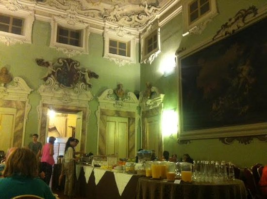 B4 Astoria Firenze: Breakfast Room