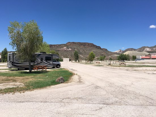 Lajitas, TX: Our RV site. We were the only one there. It was great!