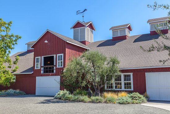 Rutherford, CA: Frogs Leap Big Red Barn