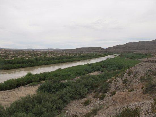 Lajitas, TX: Views of Rio Grande.