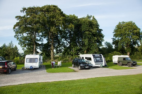 Hulme End, UK: Caravan and Camping site