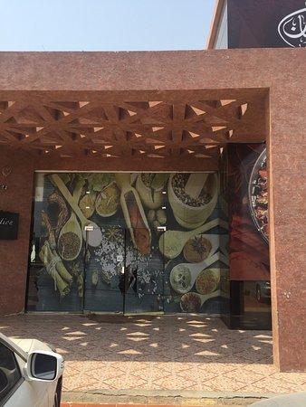 Jazan, Arabia Saudyjska: lunch with Indian flavor
