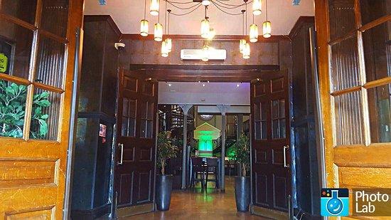 Worcester, UK: Entrance