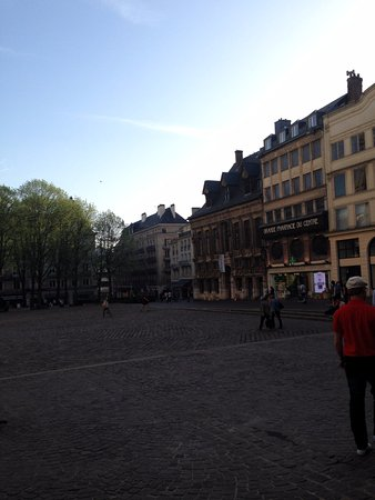 Le Trait, Frankreich: The city center