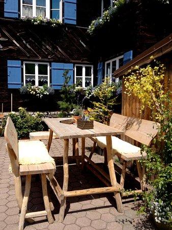 Hirschegg, Oostenrijk: auf unseren Hochbänken stets den Überblick behalten