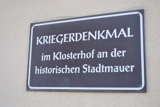 Schongau, Alemania: Информационная табличка