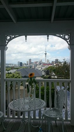 Red Monkey Ponsonby Manor: This is the view. Nice, isn't it?