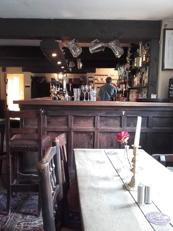 Bispham Green, UK: Bar area of Eagle & Child